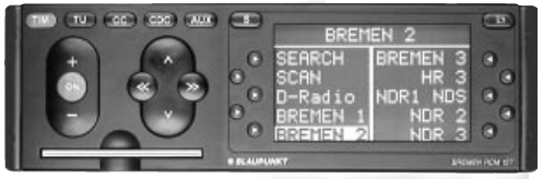 Инструкция по эксплуатации BLAUPUNKT Bremen RCM 127
