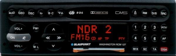 Инструкция по эксплуатации автомагнитолы Blaupunkt Washington RCM 127