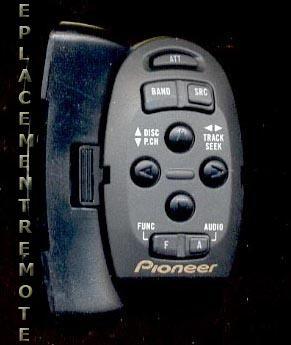Инструкция пользователя блок ДУ на руле PIONEER CD-SR77