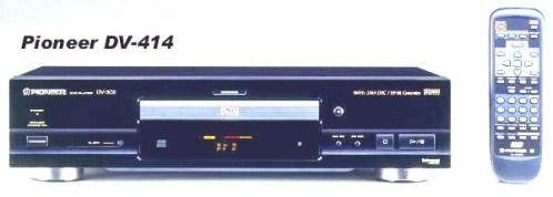 Инструкция по эксплуатации проигрыватель DVD Pioneer DV-414
