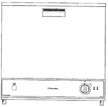Инструкция по эксплуатации машина для мытья посуды Electrolux BE-12