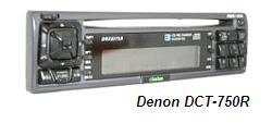 автомобильный компакт-диск плеер с радиоприемником FM-AM Denon DCT-750R