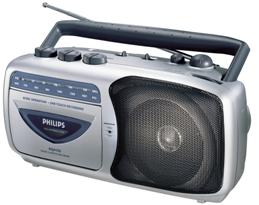 Инструкция по эксплуатации радиоприемник-кассетный магнитофон Philips AQ 4150 Radio Cassette Recorder.