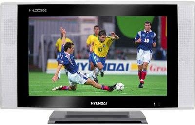 Инструкция для пользователя цветным телевизором Hyundai H-LCD2602.