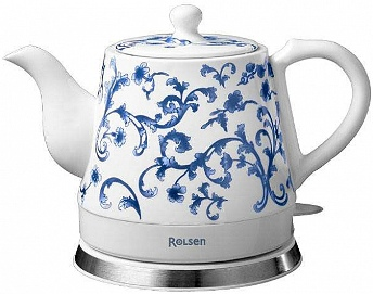 Инструкция по эксплуатации чайник электрический Rolsen RK-1209C/RK-1210C/RK-1209CS/RK-1210CS.