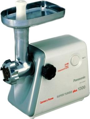 Инструкция по эксплуатации мясорубка Panasonic MK-G1300P/G1500P/G1800P.