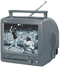 Инструкция по эксплуатации портативный черно-белый телевизор Vitek VT-3008.