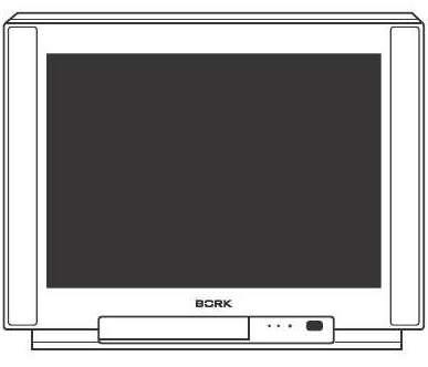 Инструкция по эксплуатации цветной телевизор Bork TV SPR 2980.