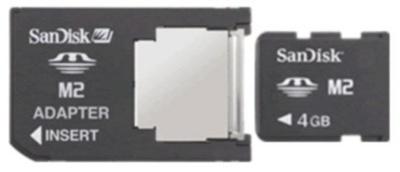 Инструкция пользователя карта памяти Sony Memory Stick Micr M2.