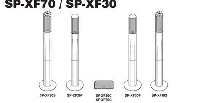 Инструкция пользователя сателлитная акустическая система JVC SP-XF30/SP-XF70.