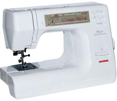 Инструкция пользователя швейная машинка Janome Decor Excel Pro 5124.