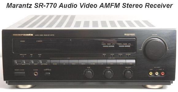 Инструкция по эксплуатации аудио-видео ресивер MARANTZ SR-770