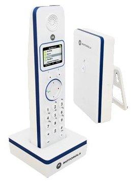 Инструкция по эксплуатации цифровой беспроводной телефон Motorola D851 с поддержкой Skype.