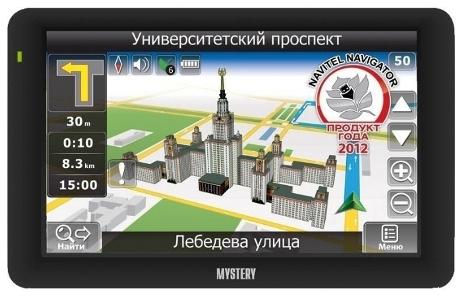 Инструкция пользователя навигатор Mystery MNS-525MP/440MP/540MP/640MP/550GN