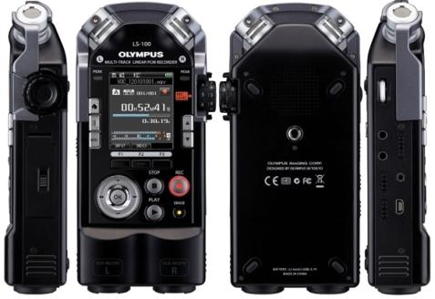 Руководство по эксплуатации линейный PCM диктофон Olympus LS-100