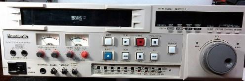 Инструкция по эксплуатации кассетный видеомагнитофон Panasonic AG-8700E
