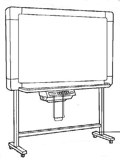 Инструкция по эксплуатации электронная доска для записей Panasonic серии KX-B.