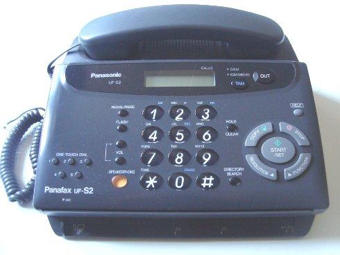Руководство по эксплуатации факсимильный аппарат Panasonic Panafax UF-S2