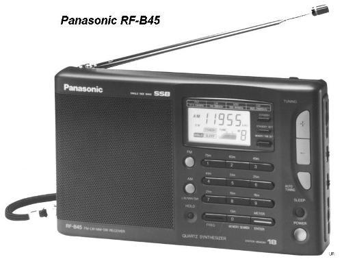 Инструкция пользователя радиоприёмник Panasonic RF-B45
