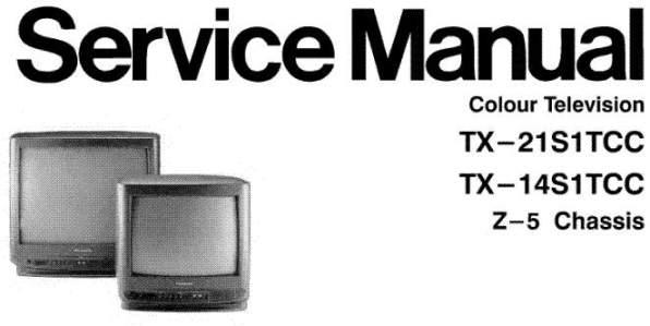 Руководство по эксплуатации цветной телевизионный приемник Panasonic TX-14S1TСС/TX-21S1TСС.