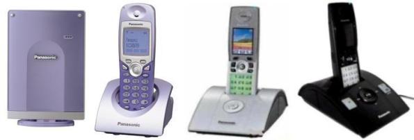 Инструкция по эксплуатации цифровой беспроводной телефон Panasonic KX TCD 576/KX TCD815/KX TCD825.