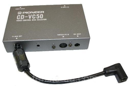 Инструкция пользователя по эксплуатации устройства выбора дисков, управляемое голосом Pioneer CD-VC50