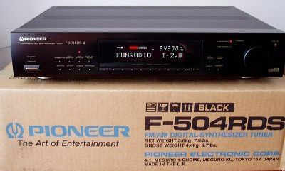 Инструкция по эксплуатации цифровой УКВ/СВ тюнер Pioneer F-504RDS