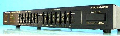 Инструкция по эксплуатации графический эквалайзер Pioneer GR-333