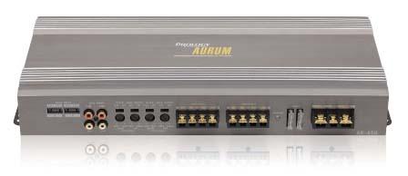 Руководство пользователя автомобильный усилитель мощности звука Prology Aurum AR-450.