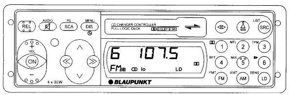 Инструкция пользователя автомобильная магнитола Blaupunkt Heidelberg CM 127, Ravenna CM 127