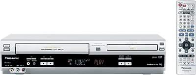 Руководство по эксплуатации DVD/CD проигрыватель и VHS видеомагнитофон Panasonic NV-VP33/NV-VP28/NV-VP23.