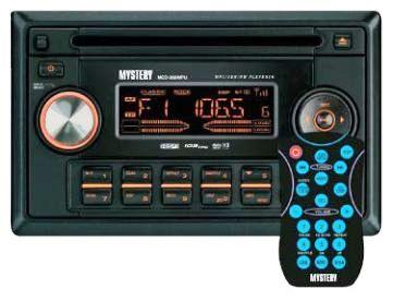 Руководство по эксплуатации автомобильный CD/MP3 ресивер Mystery MCD-959MPU/958MPU.