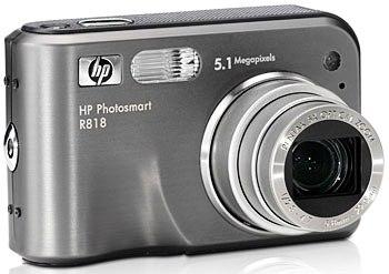 Руководство пользователя фотоаппарат HP Photosmart R817/R818 с функцией HP Instant Share.