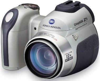 Руководство пользователя фотоаппарат Konica Minolta Dimage Z5.