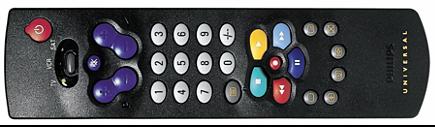 Инструкция пользователя универсальный пульт дистанционного управления Philips SBCRU430/440