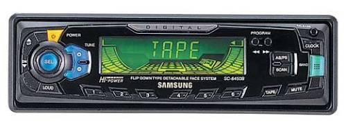 Инструкция для пользователя магнитола автомобильная Samsung SС-6450.