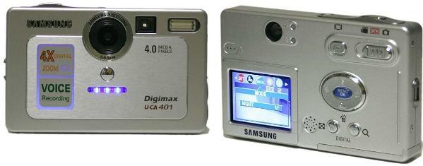 Руководство пользователя фотоаппарат Samsung Digimax U-CA 401.