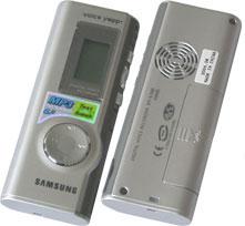 Инструкция пользователя цифрового диктофона Samsung VY-S100.