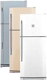 Инструкция по эксплуатации домашний холодильник с морозильной камерой Sharp серии SJ.