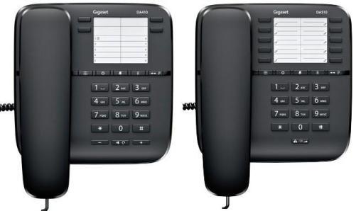 Телефон Gigaset DA410  Black (проводной)