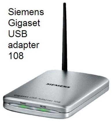 Руководство по эксплуатации Siemens Gigaset USB adapter 108