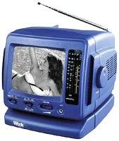 Инструкция по эксплуатации черно-белого изображения телевизор Vitek VT-3551 с радио.