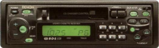 Руководство пользователя стерео кассетная дека-приемник DENON DCR-470RD