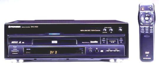 Инструкция пользователя DVD LD проигрыватель Pioneer DVL-700
