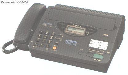 персональный аппарат факсимильной связи с автоответчиком Panasonic KX-F600