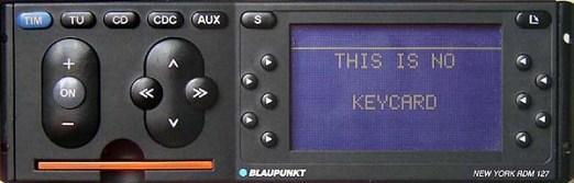 Инструкция по эксплуатации BLAUPUNKT New York RDM 127