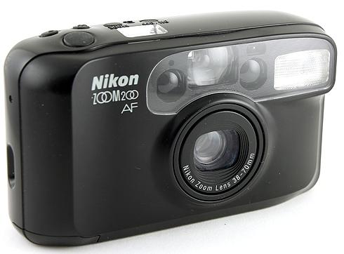 Руководство по эксплуатации фотоаппарат Nikon ZOOM 200 и Nikon ZOOM 200 QD