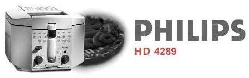 Мануал на русском языке фритюрница PHILIPS HD 4289