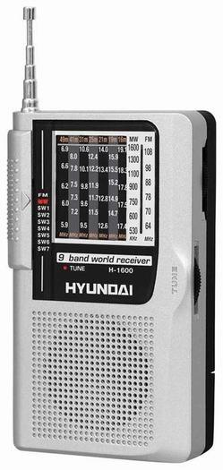 Руководство по эксплуатации портативный радиоприемник Hyundai H-1600.