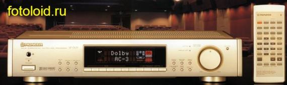 Инструкция по эксплуатации процессор DOLBY SURROUND AC-3 & PRO LOGIC Pioneer SP-D07